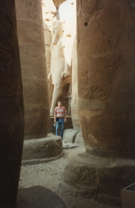 Me at Temple of Karnak 1990
