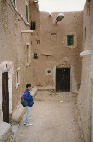 Frances in Morocco