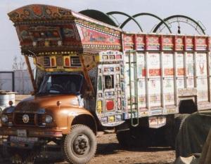 Paris Pakistan truck