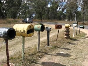 Aussie mailboxes