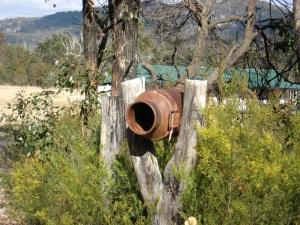 Aussie milk jug mailbox