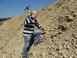 Aussie miner - me - digging at Tingha sand mine