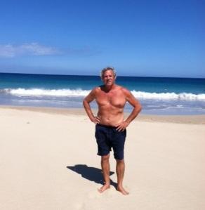 John on Hapuna beach