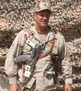 machine gun John - Iraq 1st tour