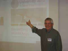 Presenting at Rocket U2U Conference in Sydney 2012