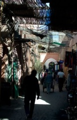 Walked for hours lost in the souk - had to pay a local to guide me back to my riad.
