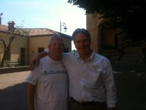 Mickey and Me, high school friends, met in Italy after 30 years