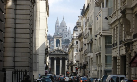 View of Sacre Coeur Basilica from the Opera