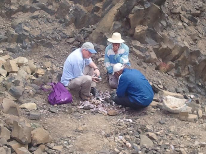 Sidi Rahal amethyst mine