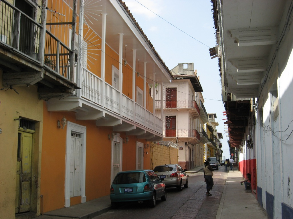 Old Panama City street