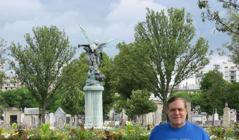Steve and I walked the Montparnasse Cimetiere