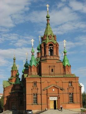 Large 300 year old church