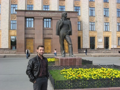 Statue of Evgeny (or not!)