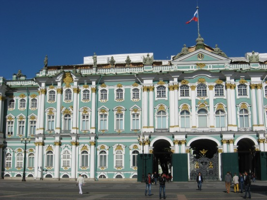 Hermitage museum, founded in 1764 by Catherine the Great as a private museum - opened to the public in 1852