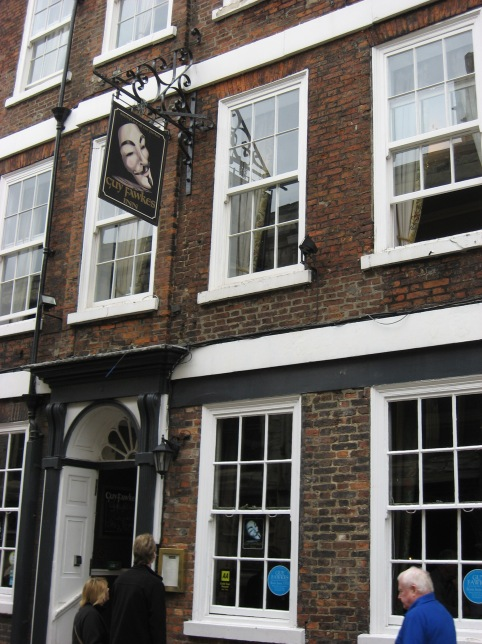 Guy Fawkes birthplace is now a hotel