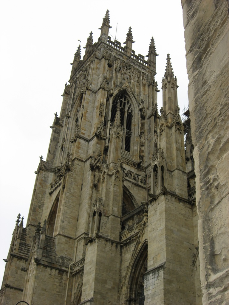 York Minster tower - 600 years old