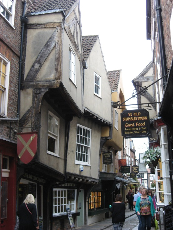 The Shambles - York old city center