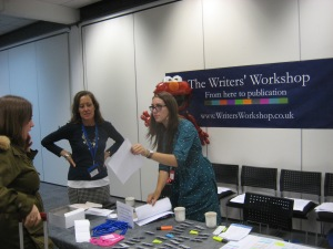Registration at the Literary Festival/Writers Workshop