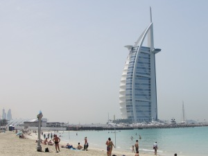 Burj Al Arab Hotel from Jumerah public beach