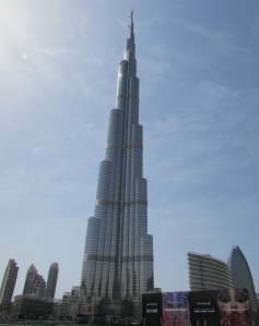 Tallest builing in the world - Burj Kharifa