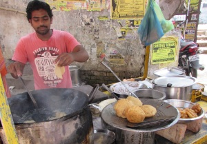 Varanasi's version of McDonald's fast food