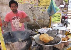 Varanasi's version of McDonald's fast food