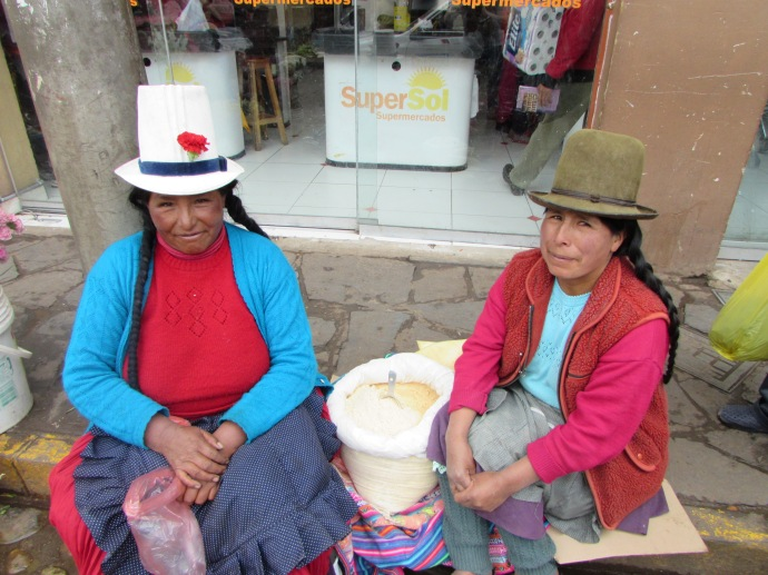 Cusco cereal vendors