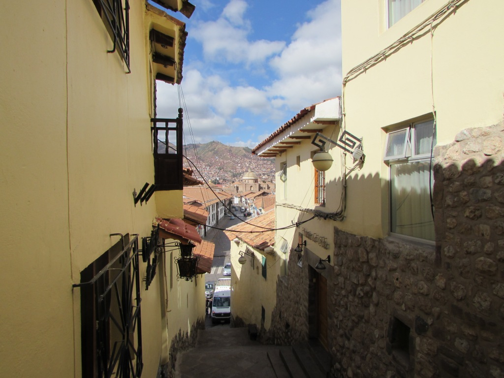 My hotel in Cusco