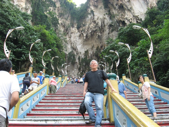 KL me at batu caves temple