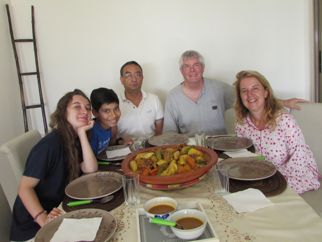 We feasted on couscous our last day in Casablanca