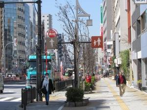 Tokyo city street