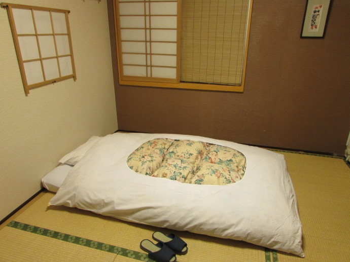 Ryokan style hotel room