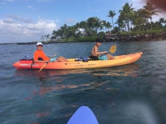 Me and Julian Kayaking