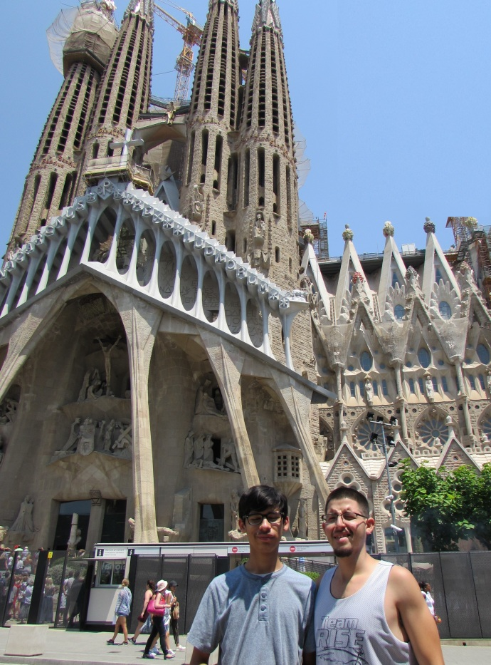 Andrew and Oscar 2018 Barcelona