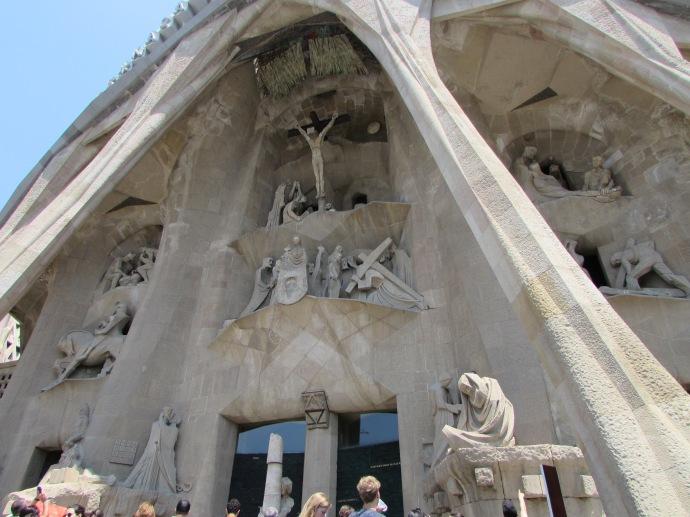 Barcelona F.S. entrance