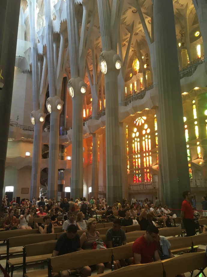Barcelona F.S. interior