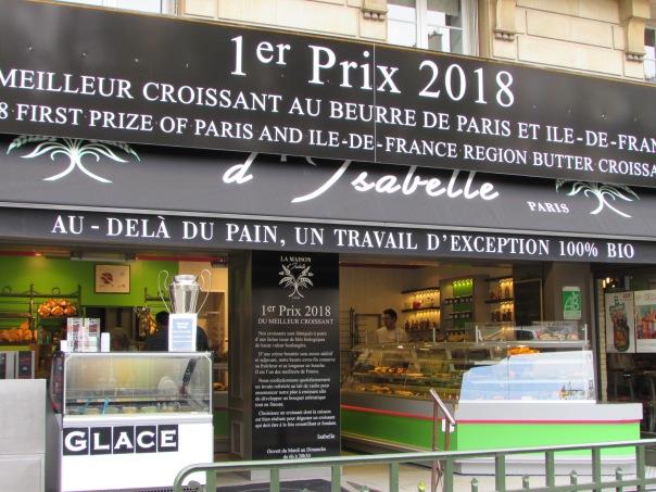 Paris best croissant bakery