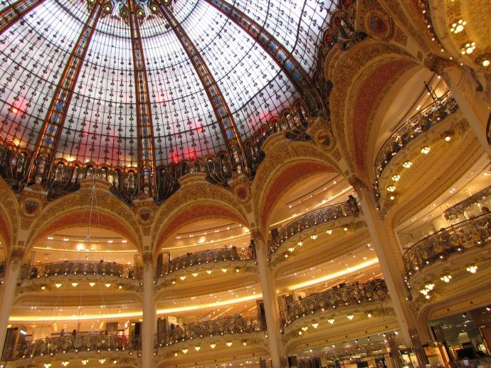 Paris Galerie Lafayette interior
