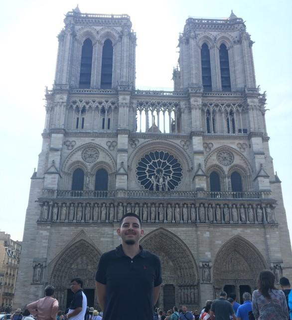 Paris Oscar Notre Dame Cathedral