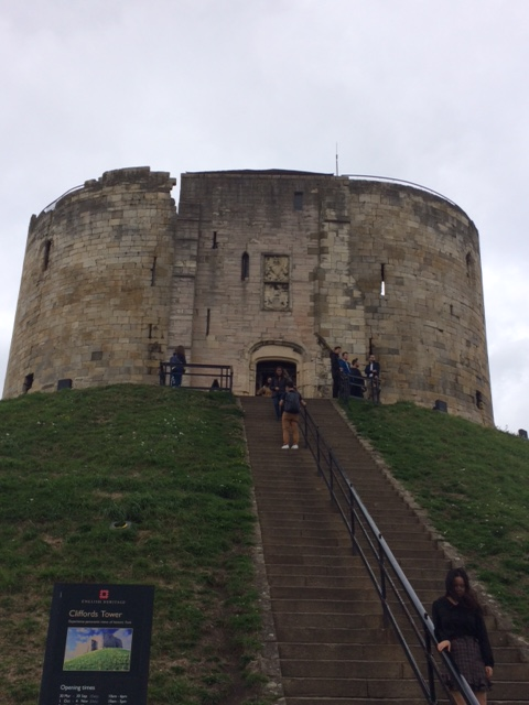 York Cliffords tower