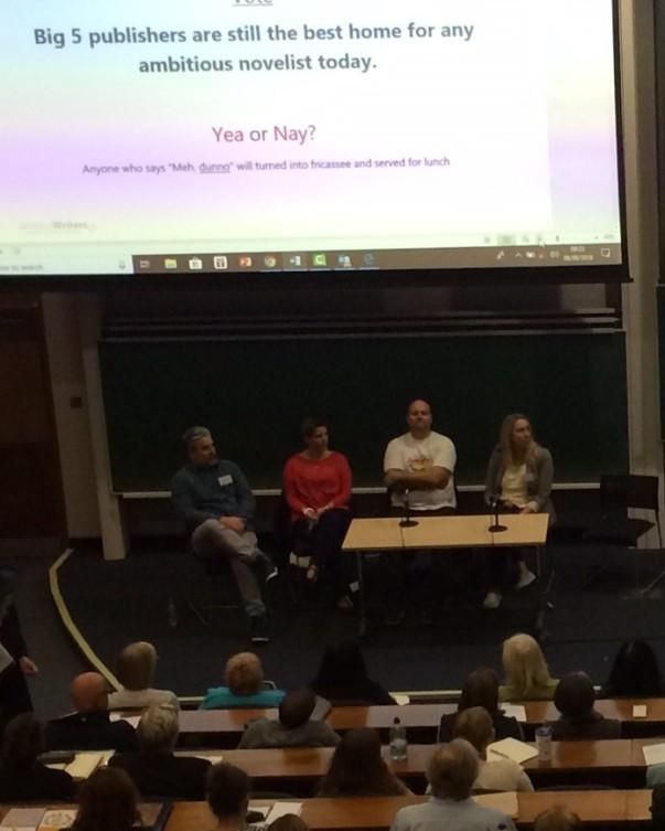 York publishing panel discuss 2