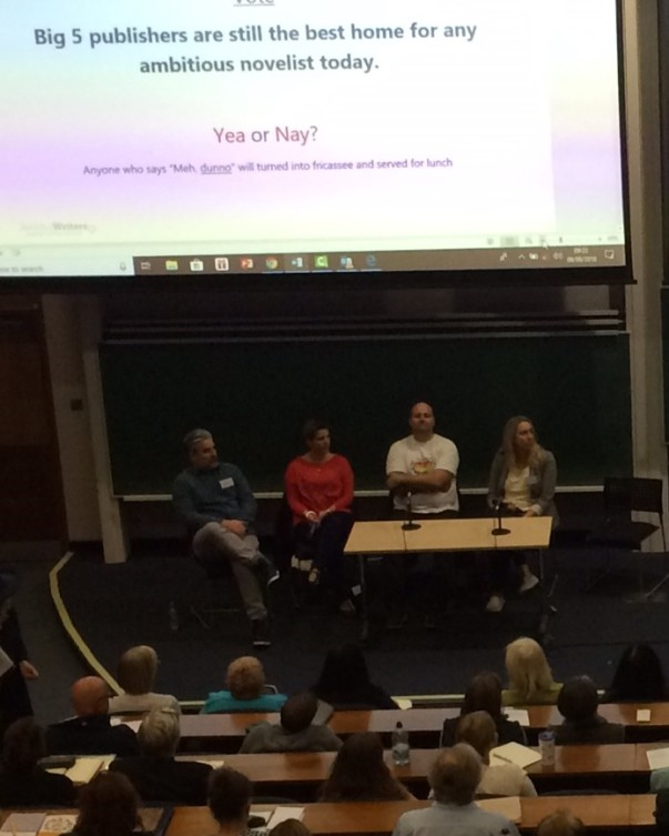 York publishing panel discuss 2