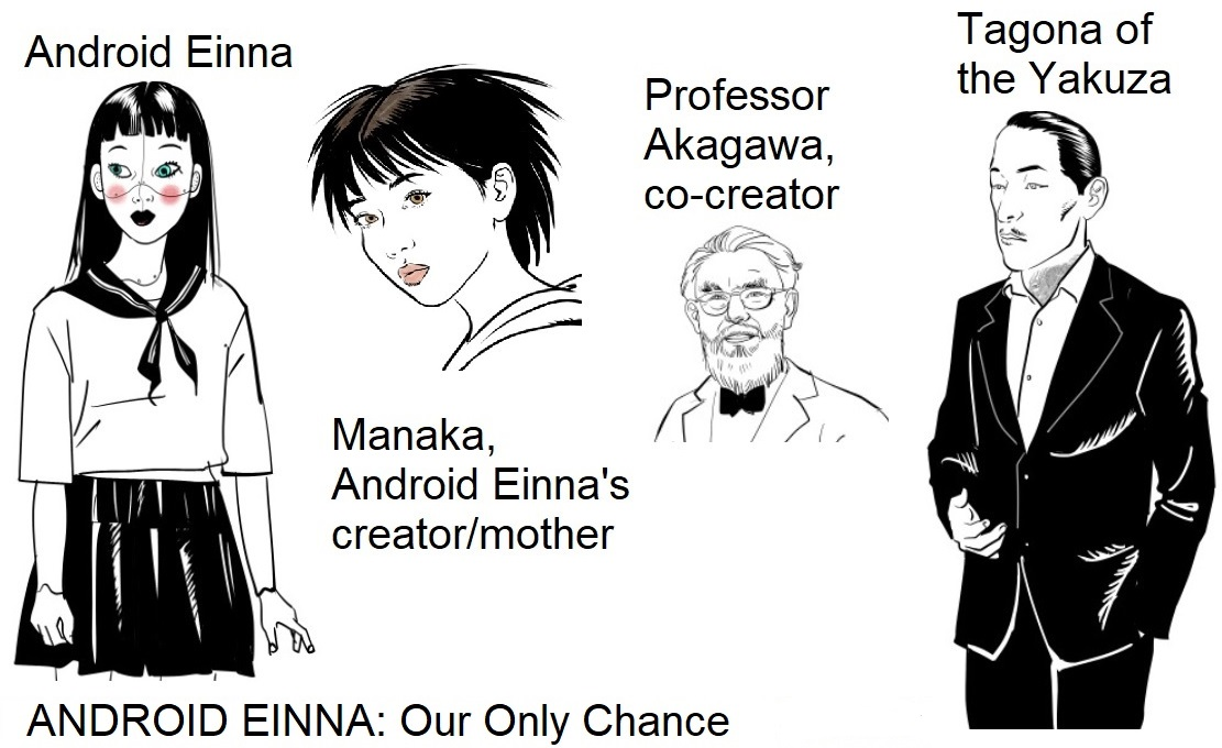 Our Only Chance - big four characters orig
